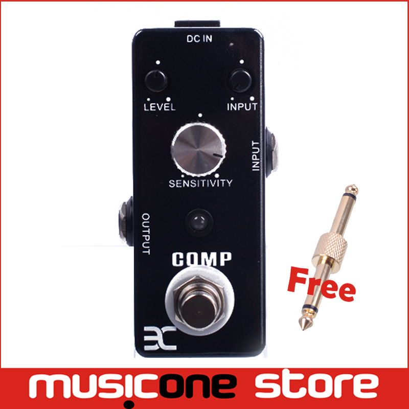 ENO Pedal EX Comp True Bypass Guitar Effects Pedal TC-81 + Free Connector(China (Mainland))