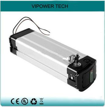 Silver Style 48V 10Ah 13S2P Li(CoxNiyMnz)O2  5000mAh Li-ion Rechargeable Electric Bike Battery Packs