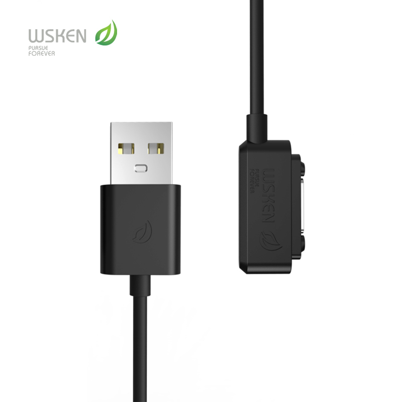 Top brand wsken usb magnetic charging adapter charger cable for Sony Xperia Z1 mini Z2 table Z3 Compact free shipping(China (Mainland))