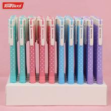 4PCS New Fashion Style TENFON Press Dot Plastic Ballpoint Pen Novelty Gift Ball Pen Office Material School Supplies(China (Mainland))