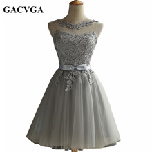 Buy GACVGA 2017 Elegant Lace Diamond Summer Dress Sleeveless Lovely Short Dress Women Plus Size Sexy Slim Party Dresses Vestido for $24.73 in AliExpress store