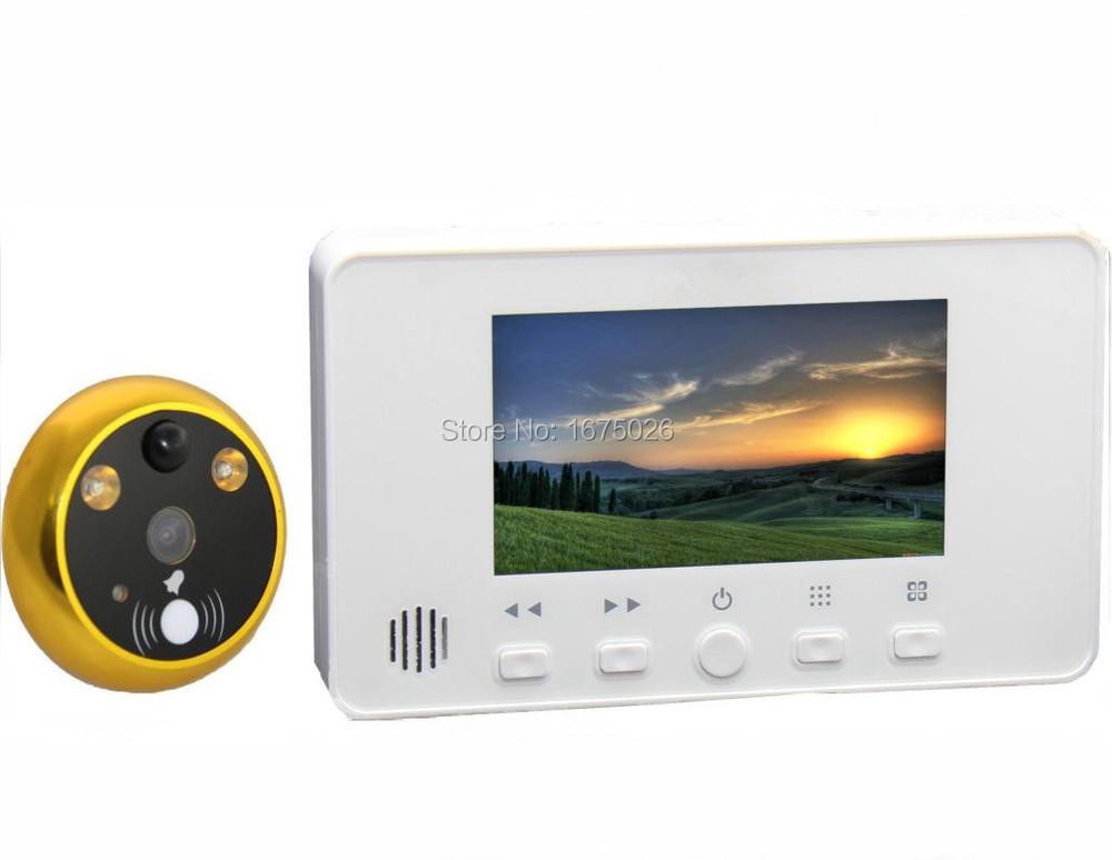 House Digital Door Eye,deaf Doorbell,electronic Door Viewer Free Shipping
