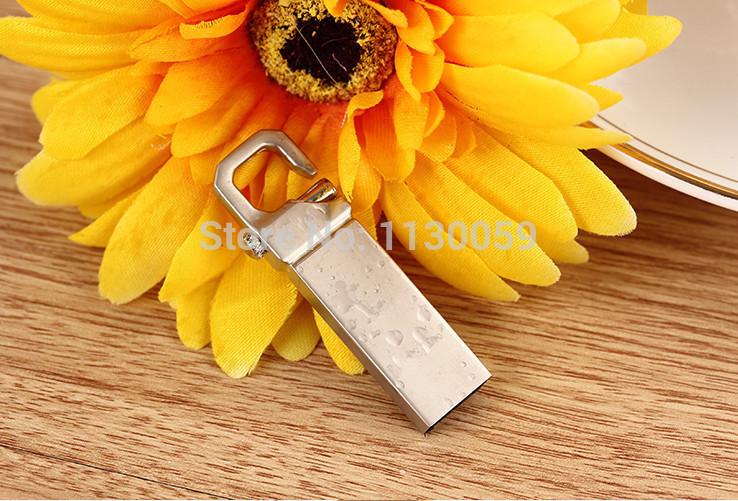Creative metal waterproof USB flash drive pen drive pendrive 4GB 8GB 16GB 32GB 64GB memory card u stick(China (Mainland))