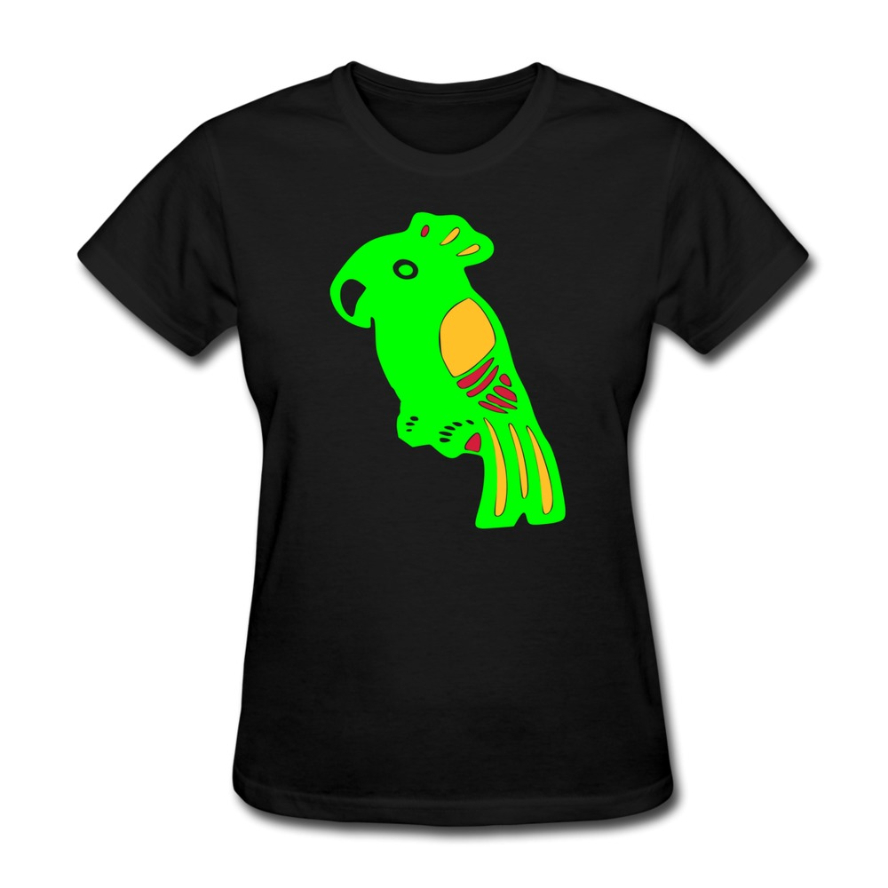 shirt lovely parrot cool text women s t shirts 2014. Black Bedroom Furniture Sets. Home Design Ideas