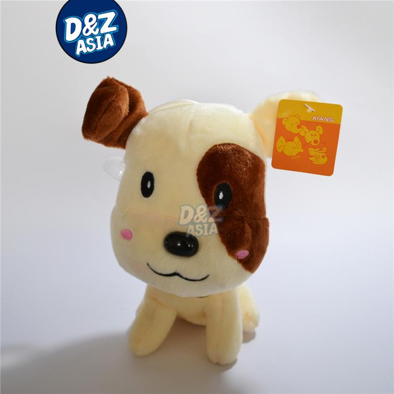 Dalmatians plush dog stuffed dog plush toys with Sucker cartoon plush Car accessories factory wholesale dropshopping(China (Mainland))