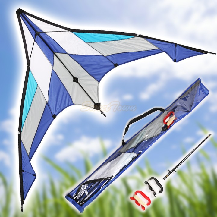 """Fast Shipping 2Pcs/Set 78"""" Delta Stunt Kite Dual Line Large Wing Outdoor Flying Kite 36(China (Mainland))"""