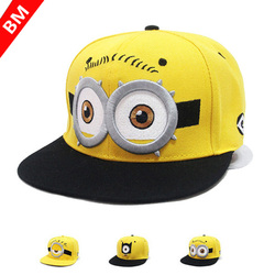 2015 Fashion God Steal Dads Film Yellow Hat Flat Along The Baseball Cap Snapback Hip-hop Caps for Boy And girls Canvas