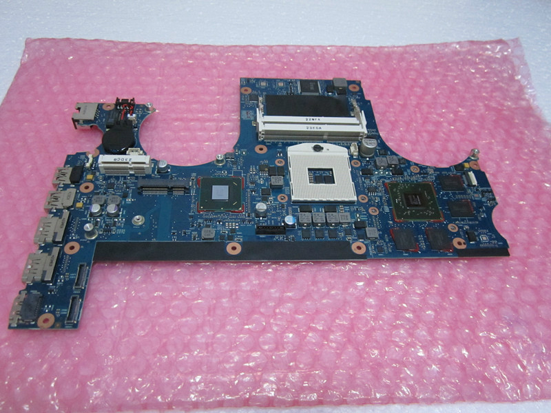 Фотография For ENVY 17 17-6000 laptop motherboard HM65 DDR3 HD6770M 1G Non-integrated 665933-001100% Tested