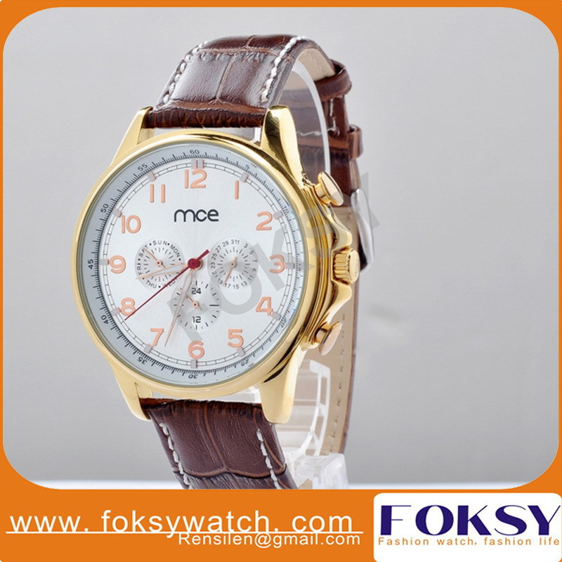 Newest Luxury brand MCE auto mechanical watches women dress watches women wristwatches hot sale brown leather alloy watches 324<br><br>Aliexpress
