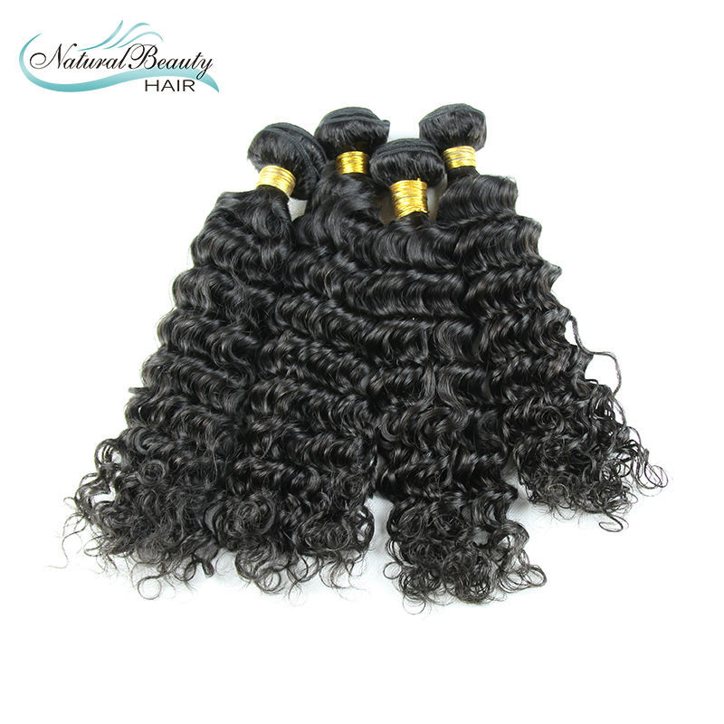 Здесь можно купить  brazilian Virgin Hair Deep Wave Human Hair Natural Black Color 6A Grade hair Extensions Can Be Dyed 100g/pcs brazilian Virgin Hair Deep Wave Human Hair Natural Black Color 6A Grade hair Extensions Can Be Dyed 100g/pcs Волосы и аксессуары