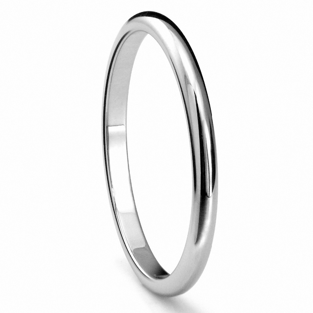 Women Titanium Wedding Band