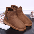 Ankle boots for women shoes cheap 2016 ladies snow boots large size 5 5 14 suede