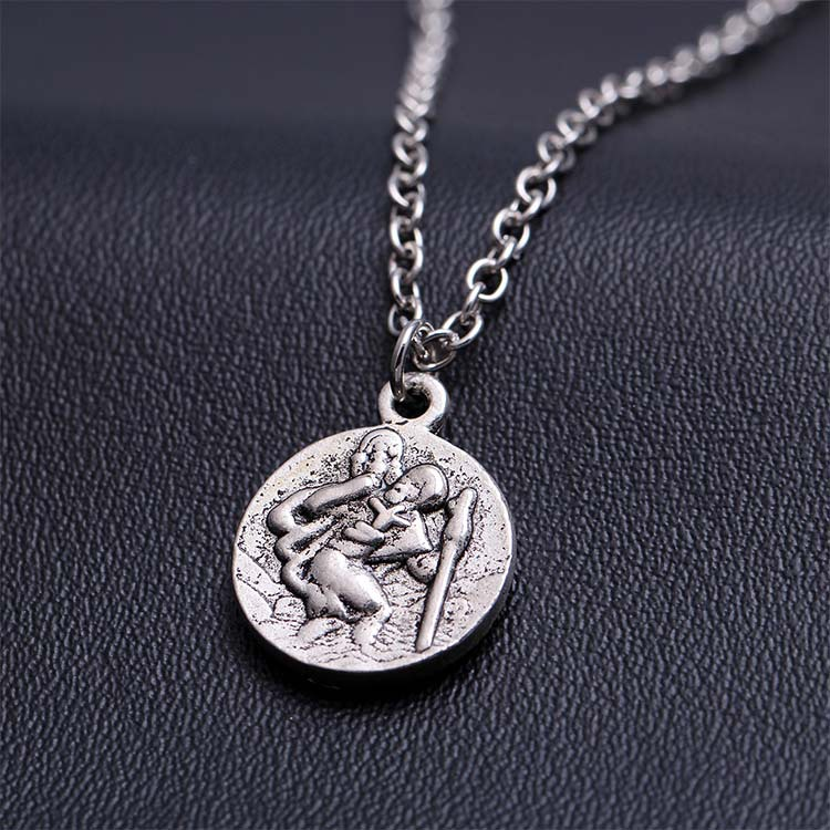 aliexpress buy fashion coin necklace silver chain