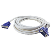 1.5m/3m/5m/10m High Speed Braid HD VGA3+4 15DP Cable Wired for STB Set Top Box Projector Video Line 1080P Good Quality