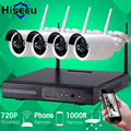 720P Wireless CCTV System 4ch Powerful Wireless NVR IP Camera Bullet CCTV Camera Home Security System