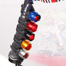 Buy LED Waterproof Bike Bicycle Cycling Front Rear Tail Helmet Red Flash Lights Safety Warning Lamp Safety Caution Light Accessories for $1.20 in AliExpress store