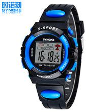 Multifunción luminoso impermeable relojes estudiantes reloj deportivo para chico / chica reloj de regalo navidad