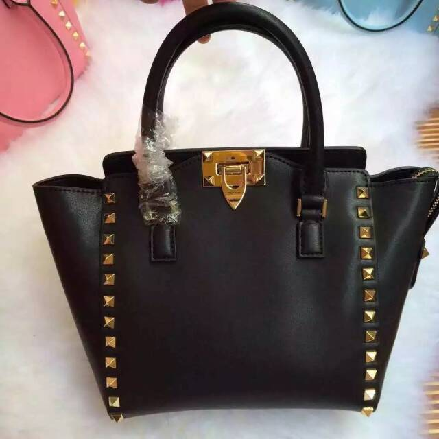 Hot selling Valentine bags Classic genuine leather bag Small size shoulder rivet bag Original alligator  luxury ranked first bag(China (Mainland))