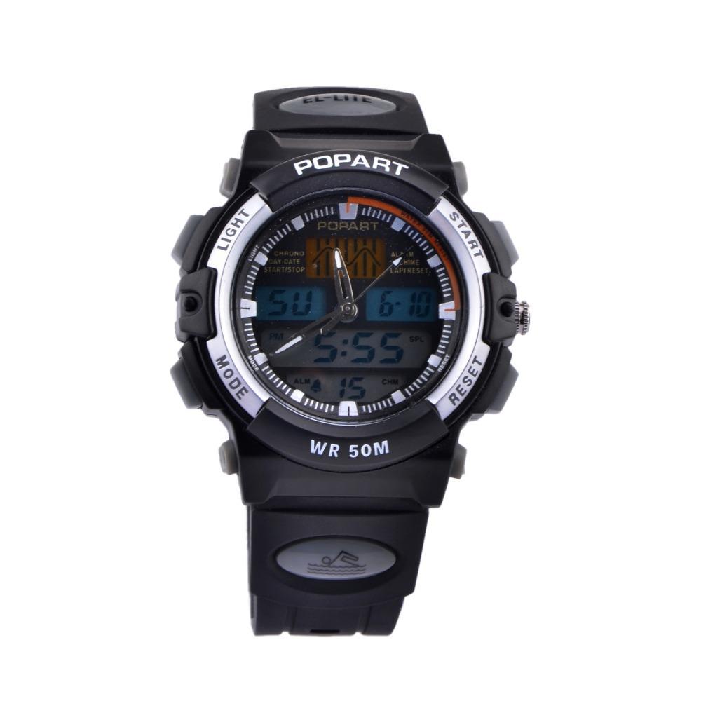 s wrist sports 50m water resistant quartz