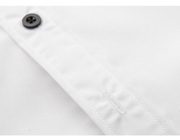 kostenloser versand Манн рубашки förderung heißer verkauf neuankömmling sekunden töten реальных baumwolle рубашки повседневные твердое männlich рубашка 5902