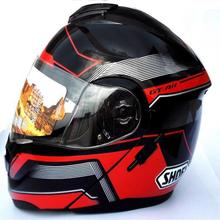 2015 newcomer Shoei motorcycle helmet flip up full face helmet double lens motorcycle helmet racing helmet DOT approved(China (Mainland))
