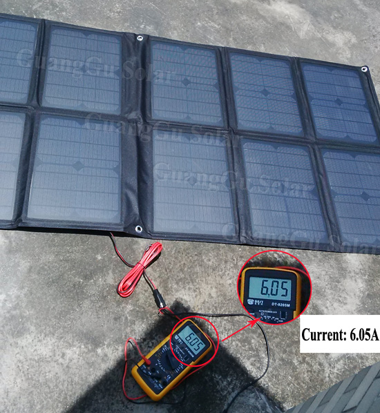 100W Solar Panel Monocrystalline Taiwan Solar Cell Folding Solar Fabric Charger Bag Portable Solar Panels for Camping Hiking(China (Mainland))