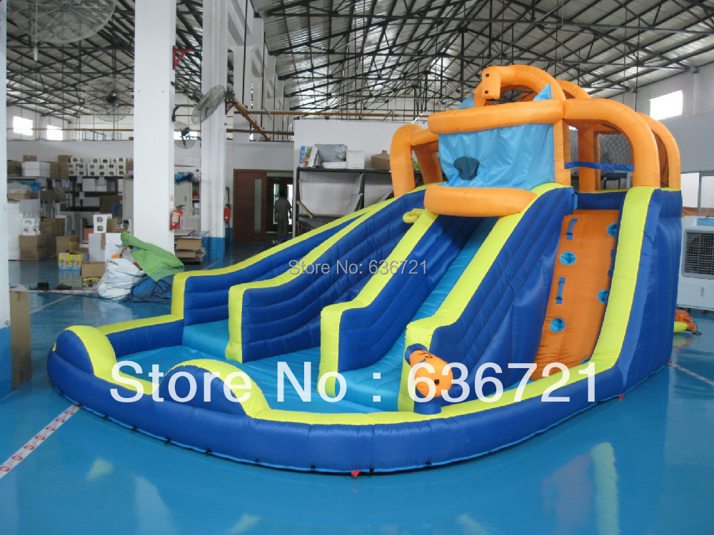 backyard inflatable water slide inflatable water game inflatable pool