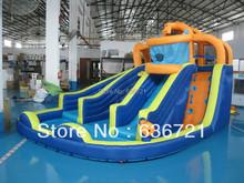 Backyard inflatable water slide,inflatable water game,inflatable pool slide(China (Mainland))