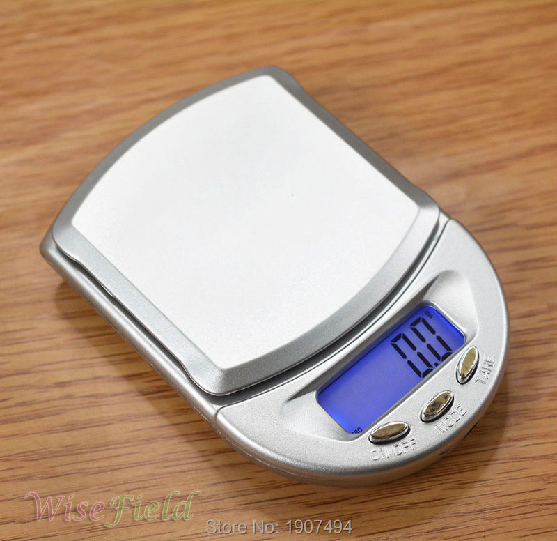 500g/ 0.1g Jewelry Scale Electronic Diamond Pocket LCD Digital Weight(China (Mainland))