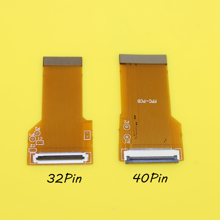 For GameBoy Advance GBA Ribbon Cable 40 Pin/32 pin AGS 101 Backlit Adapter Screen Mod(China (Mainland))