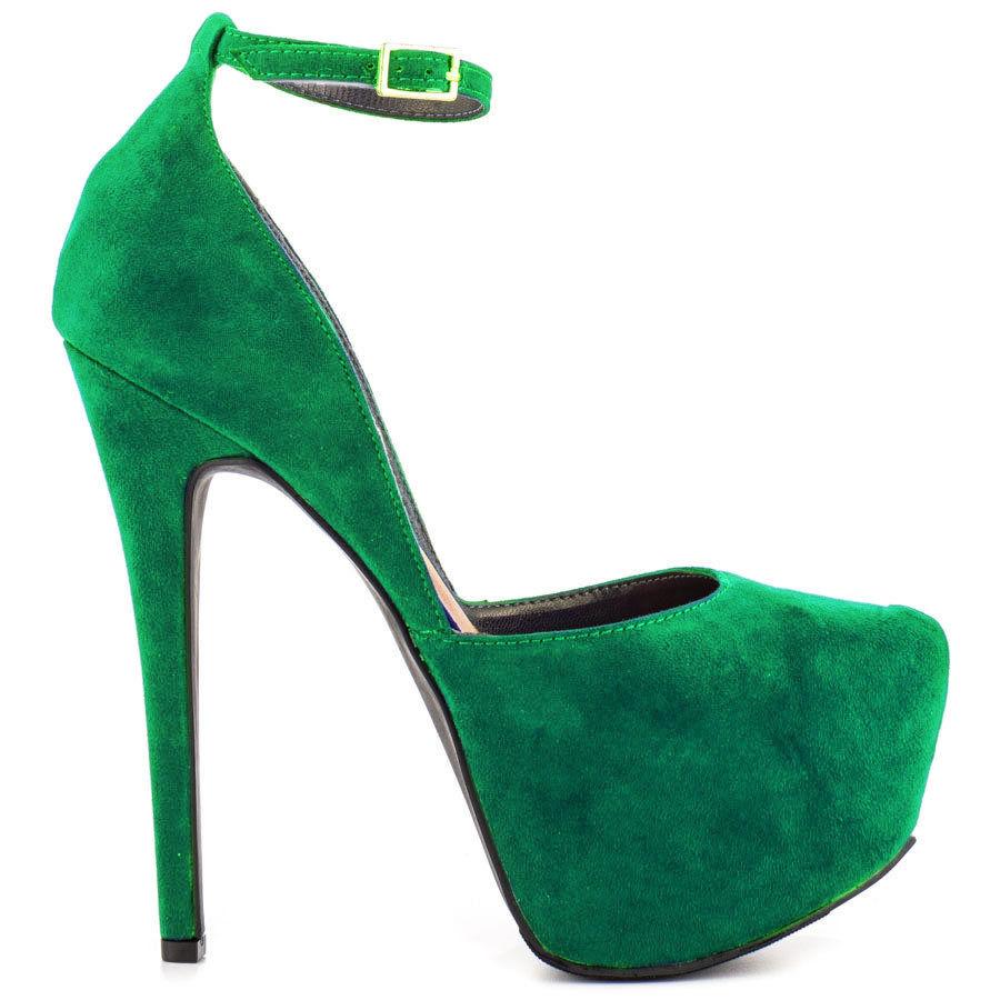 Sexy Green High Heels - Is Heel