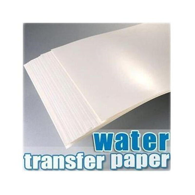 (5pcs/lot) A4 Size Inkjet Water Slide Decal Transfer Paper (Transparent Background) Inkjet Waterslide Decal Paper For Ceramic(China (Mainland))