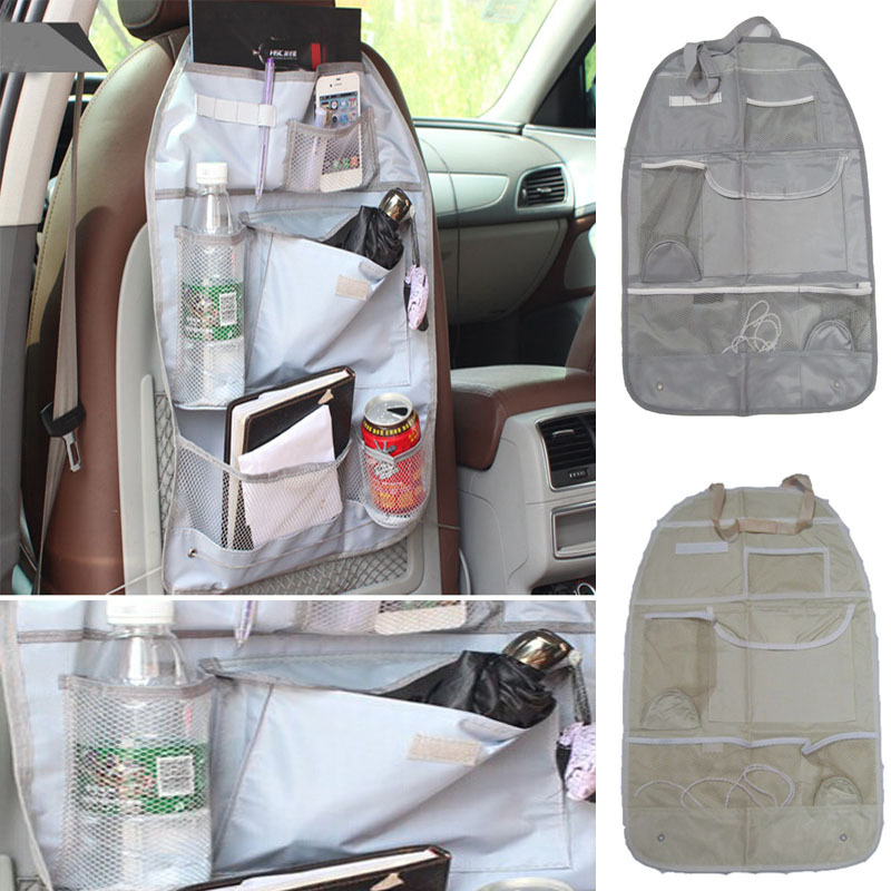 2015 New Arrival Car Interior Accessories Auto Care Seat Covers Protector Storage Bag Pouch For Children Kick Mat Mud(China (Mainland))