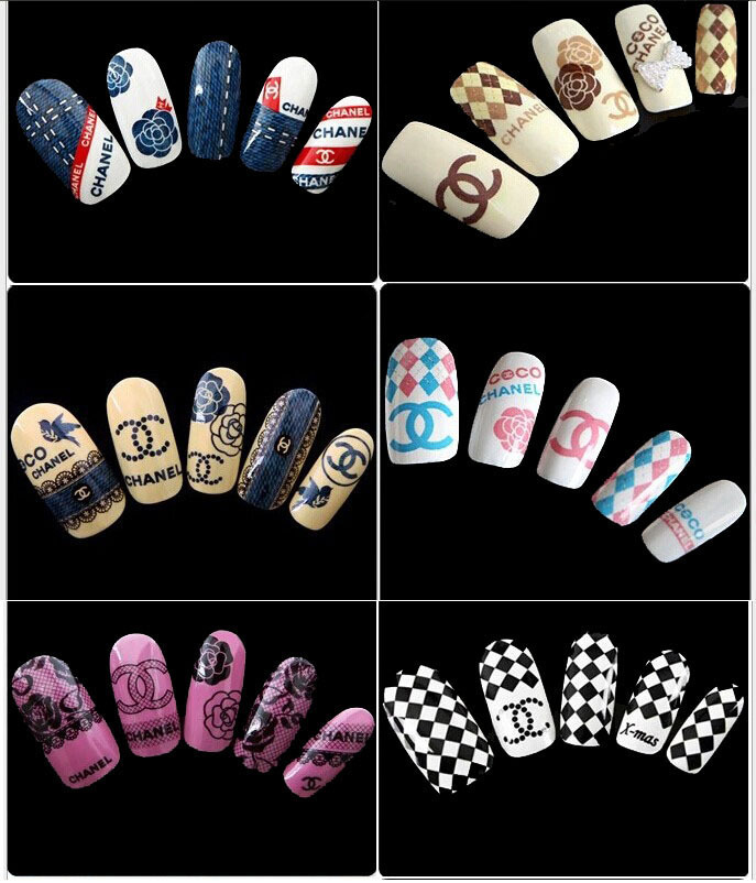 Nail art design decals easy diy nail art stickers using a view images designs set nail prinsesfo Images