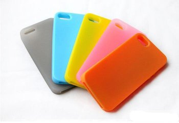 Hot sales 100pcs/lot silicone mobile phone case cover manufacturer for iphone 5