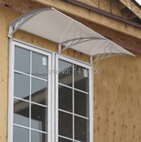 Achetez en gros auvent en polycarbonate en ligne des for Porte d entree 80 cm largeur