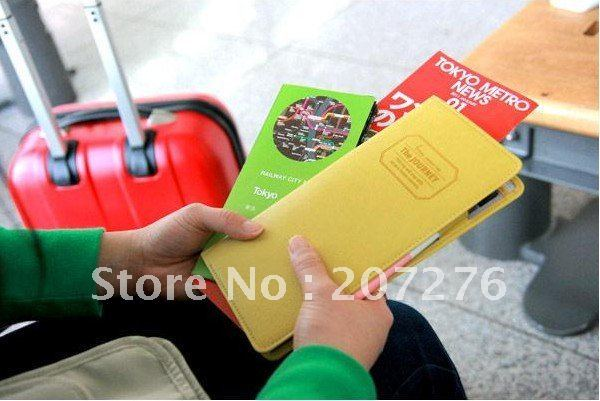 The JOURNEY Passport case long pattern wallet case with card & ID holder wonmen's handbags wallet case smart pouch