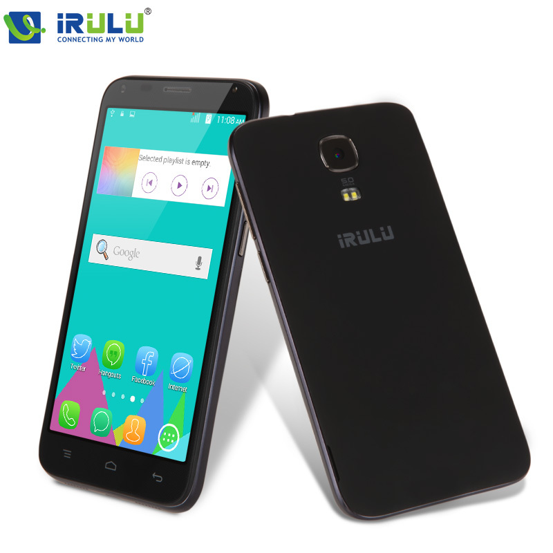 "Здесь можно купить  IRULU U1 Mini 4.5""Smartphone MTK6582 Android 4.4 Quad Core 8GB Dual SIM qHD LCD 5.0MP Heart Rate Light Sensor Black Case New Hot  Телефоны и Телекоммуникации"