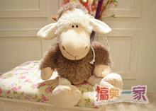 Super lindo 1 unid 35 cm NICI la decoración del hogar abrigo lobo cubierta asimiento de las ovejas muñeca de peluche de juguete de regalo del bebé niños