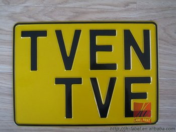 Wholesale 200 pcs Personal License Plate for good quality,free shiping