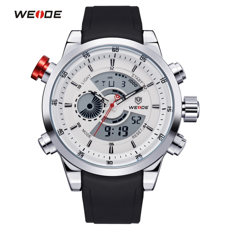 online buy whole top sports watch from top sports watch weide men sports watches top quality digital quartz multifunctional waterproof military watch pu band mens dress