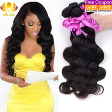 Brazilian Body Wave 4 Bundles 7A Mink Brazilian Virgin Hair Body Wave,Rosa Hair Products Soft Brazilian Human Hair Weave Bundles(China (Mainland))