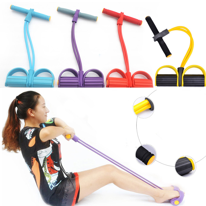 rubber band exercise machine