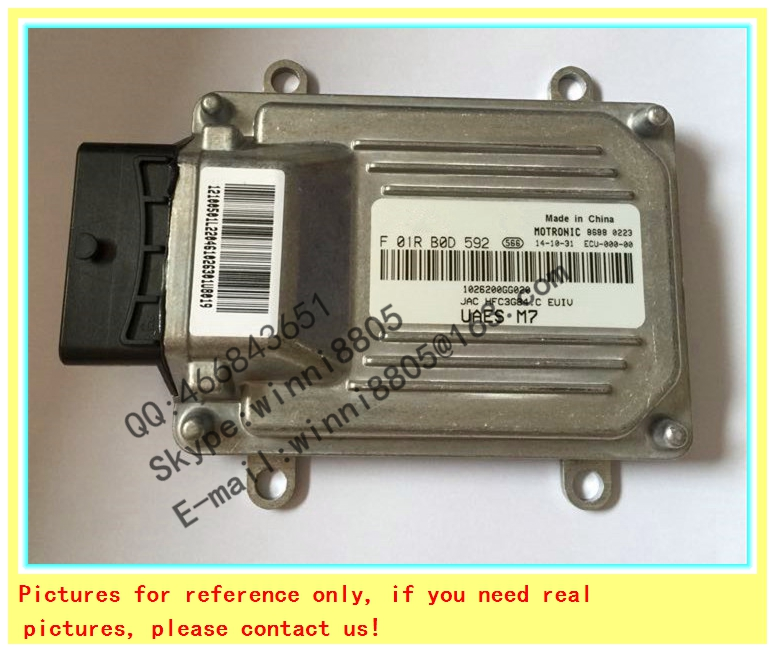 For  JAC YUEYUE 1.0 E4   car engine computer board / car pc / Engnine Control Unit (ECU) / F01RB0D592 1026200GG020 3GB4.C<br><br>Aliexpress