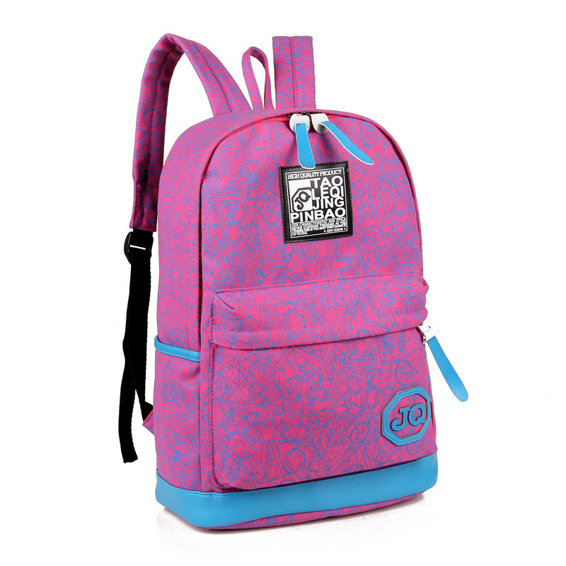 cool cute backpacks preppy style school bags boy girls casual canvas backpack women korean backpack school backpacks mochila 588(China (Mainland))