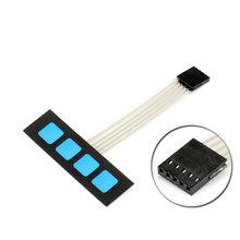 Buy 10 pcs 4 Key Matrix Membrane Switch Keypad Keyboard Control Panel SCM Extended Keyboard Arduino 1x4 Words for $4.52 in AliExpress store