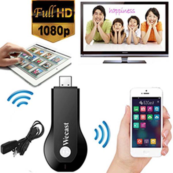 Original Wecast Miracast Dongle WIFI Google Chromcast HDMI 1080P Streaming to TV Wireless Display Streamer Smart TV Stick(China (Mainland))