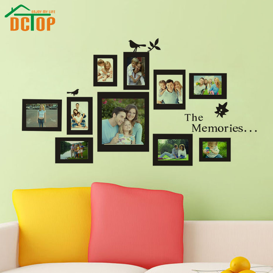 Great Photo Frame Decoration Wall Pictures Inspiration - The Wall ...