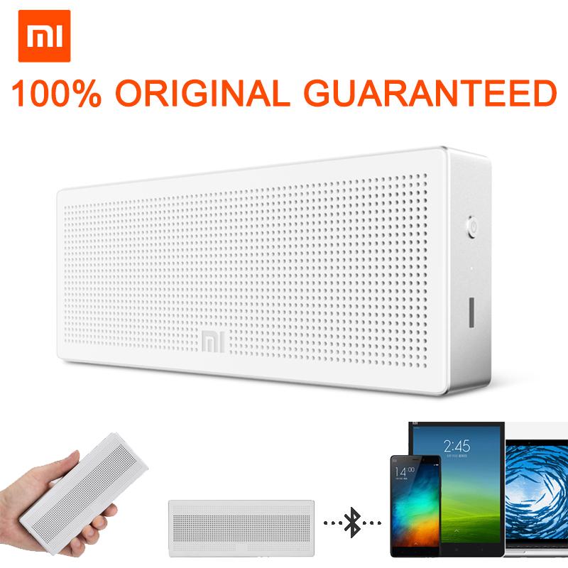 Original Xiaomi Brand Bluetooth 4.0 Stereo Speaker Portable Wireless Mini Super Bass Sound Box Square Box Speaker(China (Mainland))