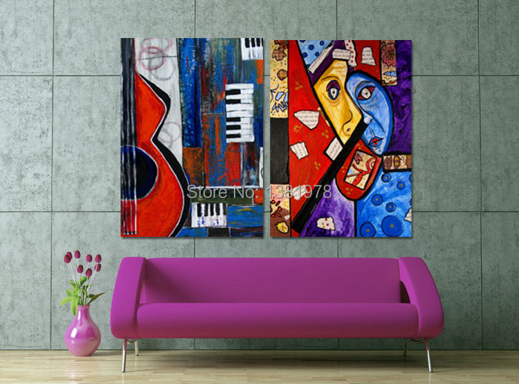 The frameless painting by numbers diy digital oil painting for Diy frameless picture frames